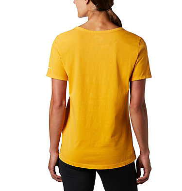 Maglia pigmentata CSC™ da donna CSC™ W Pigment Tee | 602 | L, Raw Honey, back