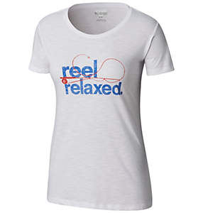 Women's PFG Reel Relaxed Short Sleeve Crew