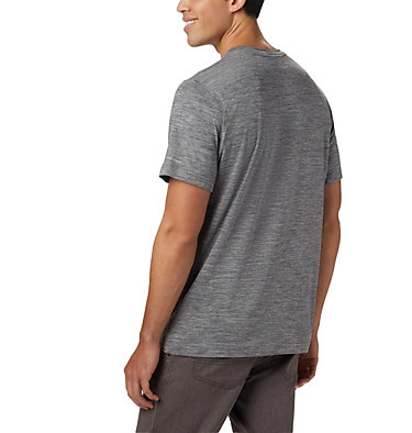 Men's Tech Trail™ II V-Neck Tech Trail™ II V Neck | 463 | M, City Grey, back