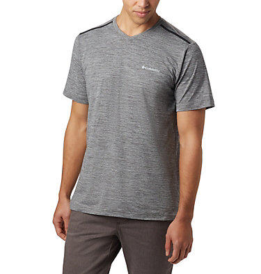 Men's Tech Trail™ II V-Neck Tech Trail™ II V Neck | 463 | M, City Grey, front
