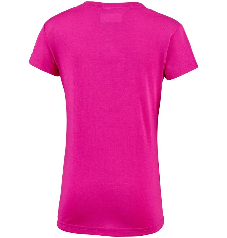 Little Canyon™ Tee | 627 | XXS T-shirt Manches Courtes Little Canyon™ Fille, Haute Pink, back