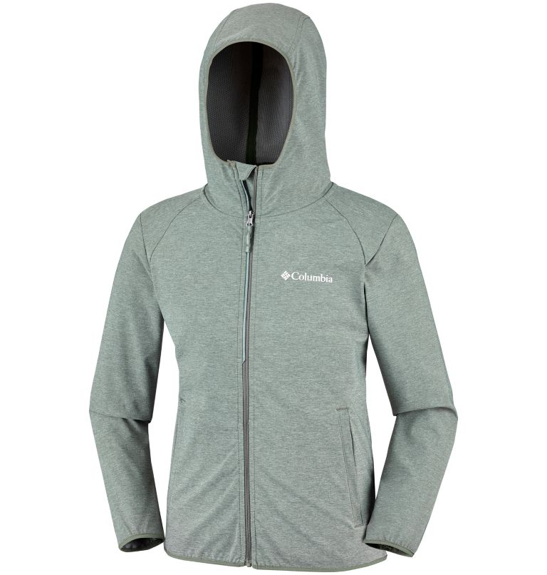 Heather Canyon™ Softshell Jack | 316 | S Veste Softshell Heather Canyon™ Junior, Cypress Heather, a1