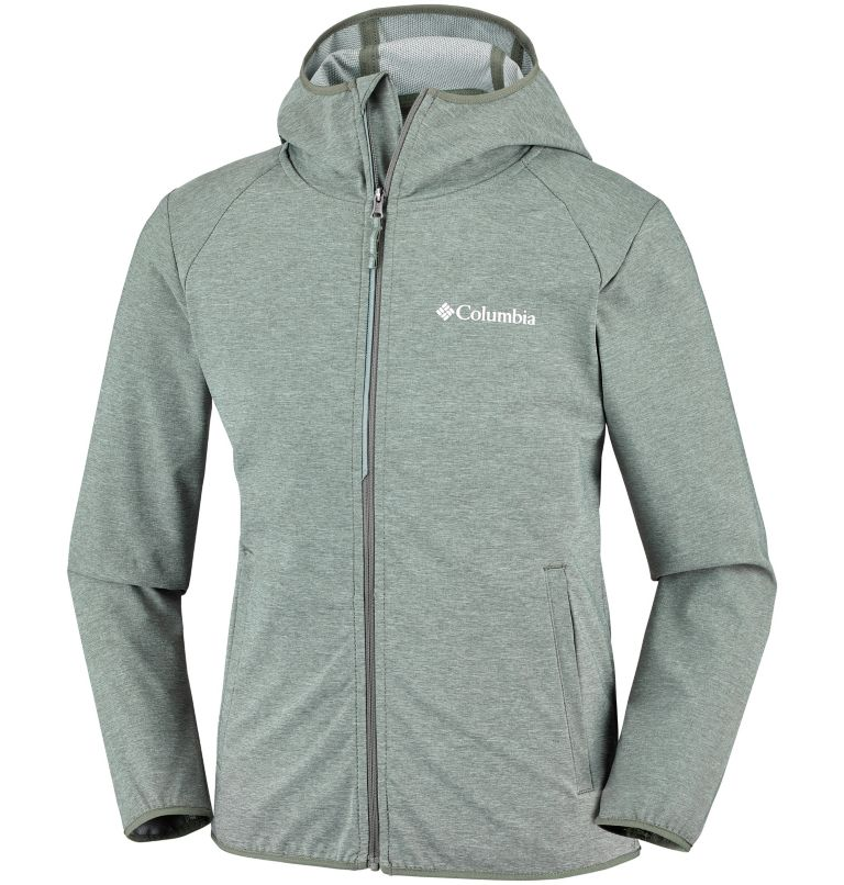 Heather Canyon™ Softshell Jack | 316 | S Veste Softshell Heather Canyon™ Junior, Cypress Heather, front