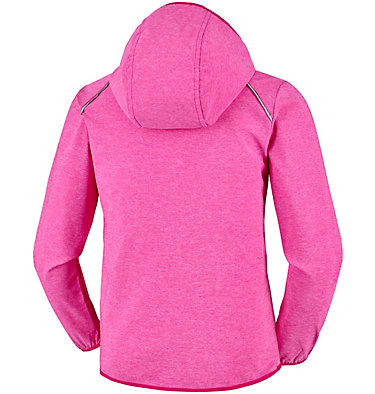 Youth Heather Canyon™ Softshell Jacket Heather Canyon™ Softshell Jack | 627 | XL, Haute Pink Heather, back
