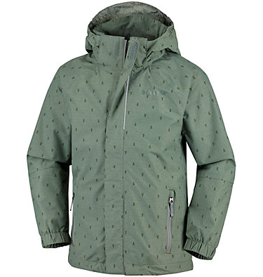 Youth Holly Peak™ Shell Holly Peak™ Shell | 627 | L, Cypress Campfire Print, front