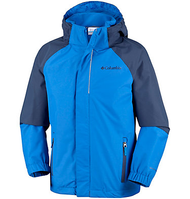 Youth Holly Peak™ Shell Holly Peak™ Shell | 627 | L, Super Blue, Collegiate Navy, front
