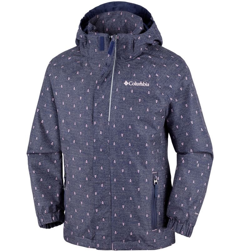 Holly Peak™ Shell | 466 | L Youth Holly Peak™ Shell, Nocturnal Campfire Print, front