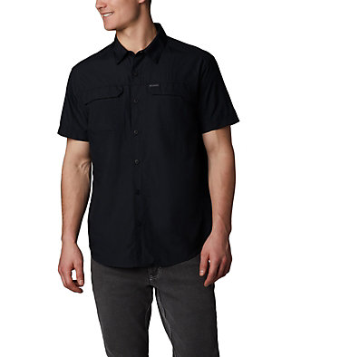 Men's Silver Ridge™ 2.0 Short Sleeve Shirt Silver Ridge™ 2.0 Short Sleeve Shirt | 449 | XL, Black, front