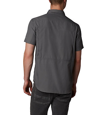 Men's Silver Ridge™ 2.0 Short Sleeve Shirt Silver Ridge™ 2.0 Short Sleeve Shirt | 449 | XL, City Grey, back