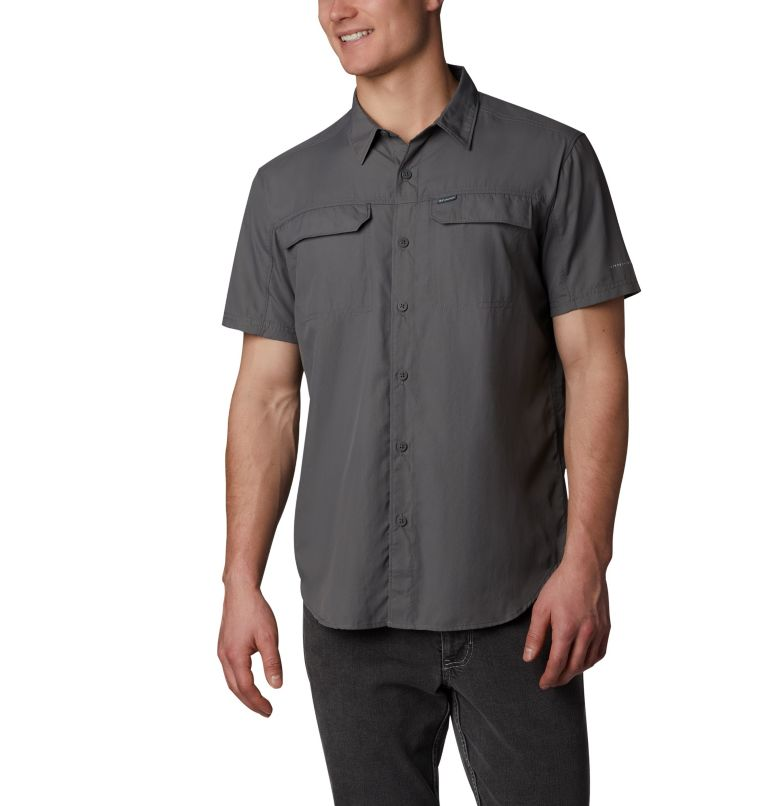 Silver Ridge™ 2.0 Short Sleeve Shirt | 023 | XL Men's Silver Ridge™ 2.0 Short Sleeve Shirt, City Grey, front