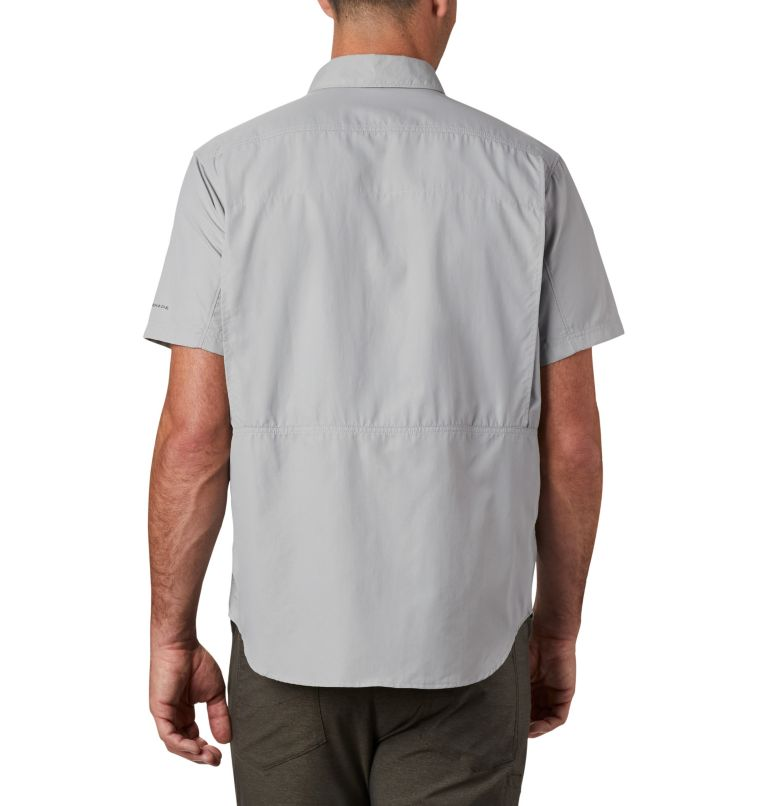 Silver Ridge™ 2.0 Short Sleeve Shirt | 039 | L Men's Silver Ridge™ 2.0 Short Sleeve Shirt, Columbia Grey, back