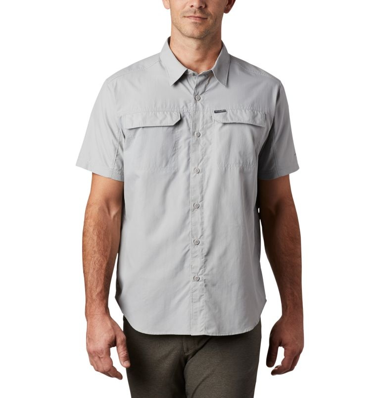 Silver Ridge™ 2.0 Short Sleeve Shirt | 039 | L Men's Silver Ridge™ 2.0 Short Sleeve Shirt, Columbia Grey, front