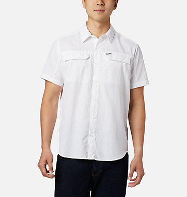 Men's Silver Ridge™ 2.0 Short Sleeve Shirt Silver Ridge™ 2.0 Short Sleeve Shirt | 449 | XL, White, front