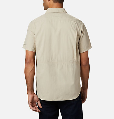 Men's Silver Ridge™ 2.0 Short Sleeve Shirt Silver Ridge™ 2.0 Short Sleeve Shirt | 449 | XL, Fossil, back