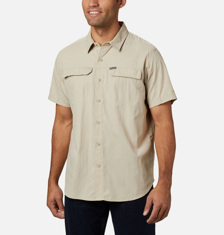 Silver Ridge™ 2.0 Short Sleeve Shirt | 160 | L Men's Silver Ridge™ 2.0 Short Sleeve Shirt, Fossil, front