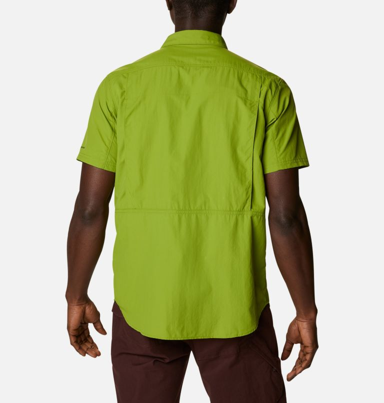 Silver Ridge™ 2.0 Short Sleeve Shirt | 352 | L Men's Silver Ridge™ 2.0 Short Sleeve Shirt, Matcha, back