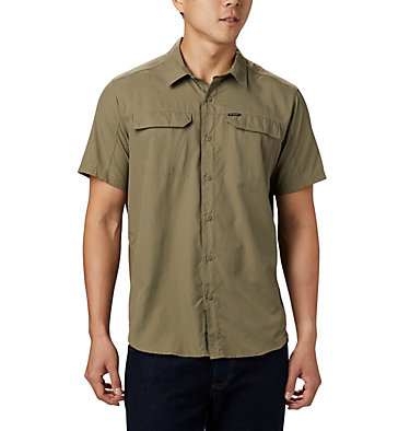 Men's Silver Ridge™ 2.0 Short Sleeve Shirt Silver Ridge™ 2.0 Short Sleeve Shirt | 449 | XL, Sage, front