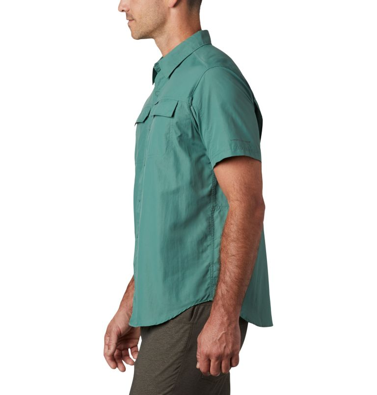 Silver Ridge™ 2.0 Short Sleeve Shirt   369   XXL Men's Silver Ridge™ 2.0 Short Sleeve Shirt, Thyme Green, a1