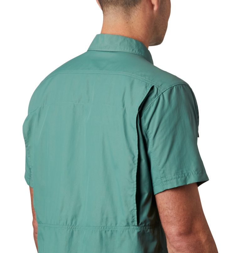 Silver Ridge™ 2.0 Short Sleeve Shirt   369   XXL Men's Silver Ridge™ 2.0 Short Sleeve Shirt, Thyme Green, a3