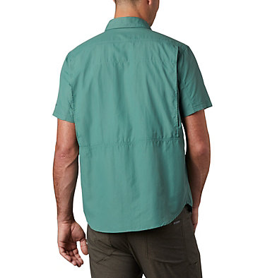 Men's Silver Ridge™ 2.0 Short Sleeve Shirt Silver Ridge™ 2.0 Short Sleeve Shirt | 039 | L, Thyme Green, back