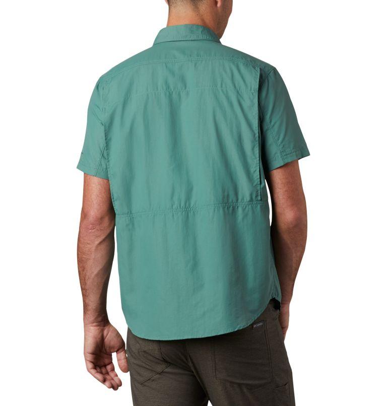 Silver Ridge™ 2.0 Short Sleeve Shirt   369   XXL Men's Silver Ridge™ 2.0 Short Sleeve Shirt, Thyme Green, back