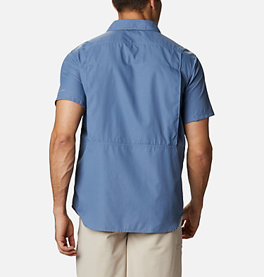 Men's Silver Ridge™ 2.0 Short Sleeve Shirt Silver Ridge™ 2.0 Short Sleeve Shirt | 449 | XL, Bluestone, back