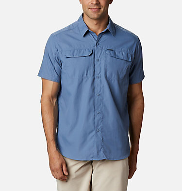 Men's Silver Ridge™ 2.0 Short Sleeve Shirt Silver Ridge™ 2.0 Short Sleeve Shirt | 449 | XL, Bluestone, front