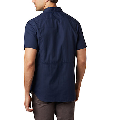 Men's Silver Ridge™ 2.0 Short Sleeve Shirt Silver Ridge™ 2.0 Short Sleeve Shirt | 449 | XL, Collegiate Navy, back