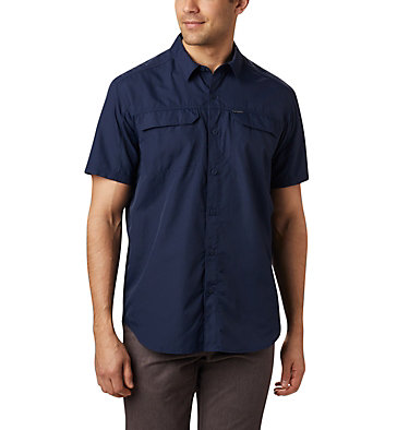 Men's Silver Ridge™ 2.0 Short Sleeve Shirt Silver Ridge™ 2.0 Short Sleeve Shirt | 449 | XL, Collegiate Navy, front