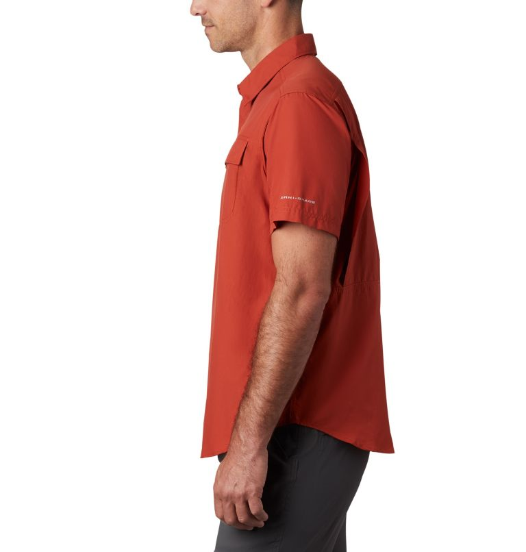 Silver Ridge™ 2.0 Short Sleeve Shirt | 835 | L Men's Silver Ridge™ 2.0 Short Sleeve Shirt, Carnelian Red, a1