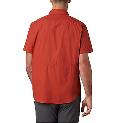 Men's Silver Ridge™ 2.0 Short Sleeve Shirt Silver Ridge™ 2.0 Short Sleeve Shirt | 449 | XL, Carnelian Red, back