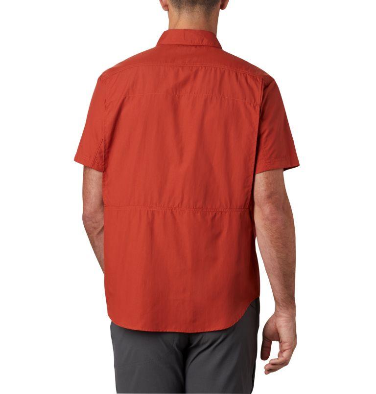 Silver Ridge™ 2.0 Short Sleeve Shirt | 835 | L Men's Silver Ridge™ 2.0 Short Sleeve Shirt, Carnelian Red, back