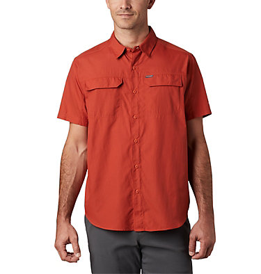 Men's Silver Ridge™ 2.0 Short Sleeve Shirt Silver Ridge™ 2.0 Short Sleeve Shirt | 449 | XL, Carnelian Red, front