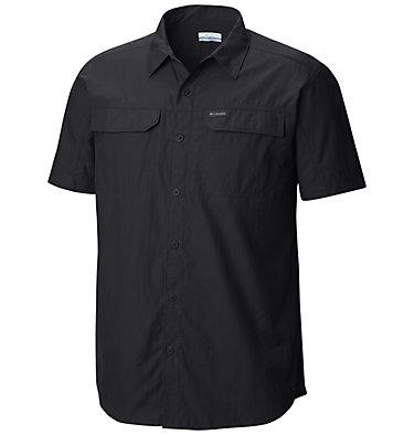 Men's Silver Ridge™ 2.0 Short Sleeve Shirt—Big Silver Ridge™ 2.0 Short Sleeve Shirt | 100 | 1X, Black, front