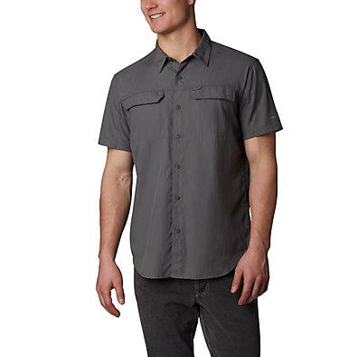 Men's Silver Ridge™ 2.0 Short Sleeve Shirt—Big Silver Ridge™ 2.0 Short Sleeve Shirt | 100 | 1X, City Grey, front