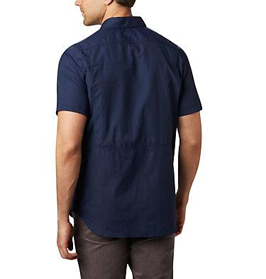 Men's Silver Ridge™ 2.0 Short Sleeve Shirt—Tall Silver Ridge™ 2.0 Short Sleeve Shirt | 464 | 4XT, Collegiate Navy, back