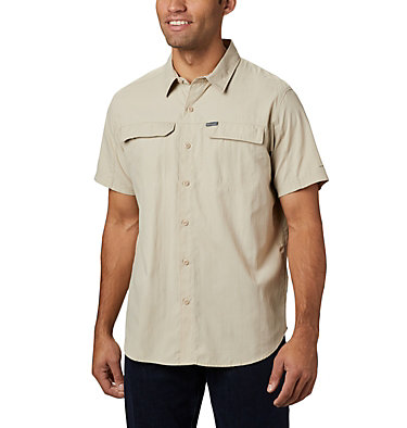 Chemise Manches Courtes Silver Ridge™ 2.0 Homme Silver Ridge™ 2.0 Short Sleeve Shirt | 039 | L, Fossil, front