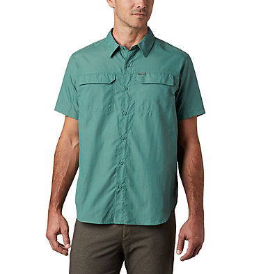 Chemise Manches Courtes Silver Ridge™ 2.0 Homme Silver Ridge™ 2.0 Short Sleeve Shirt | 039 | L, Thyme Green, front