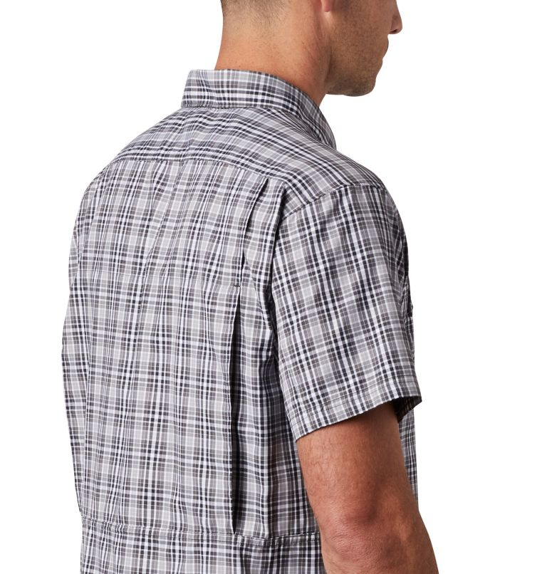 Silver Ridge™ 2.0 Multi Plaid S/S Shirt | 011 | L Men's Silver Ridge™ 2.0 Multi Plaid Short Sleeve Shirt, Black Gingham, a3