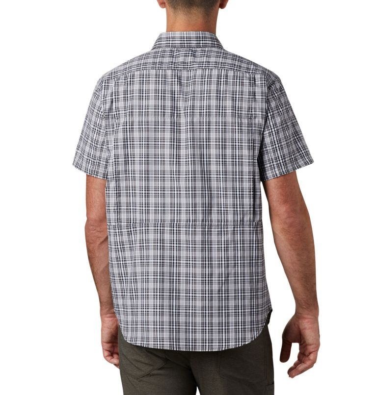 Silver Ridge™ 2.0 Multi Plaid S/S Shirt | 011 | L Men's Silver Ridge™ 2.0 Multi Plaid Short Sleeve Shirt, Black Gingham, back