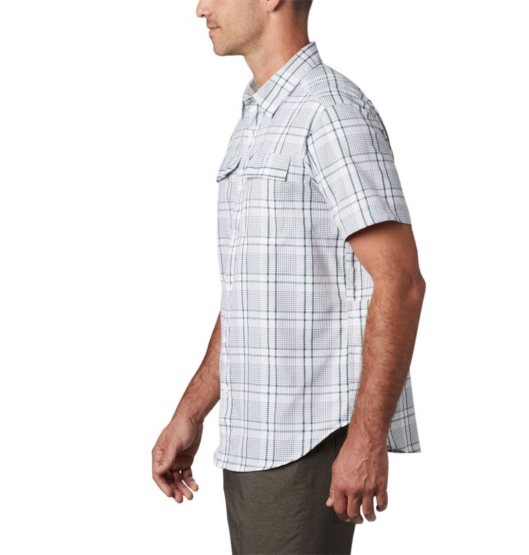 Silver Ridge™ 2.0 Multi Plaid S/S Shirt | 375 | M Men's Silver Ridge™ 2.0 Multi Plaid Short Sleeve Shirt, Rain Forest Grid Plaid, a1