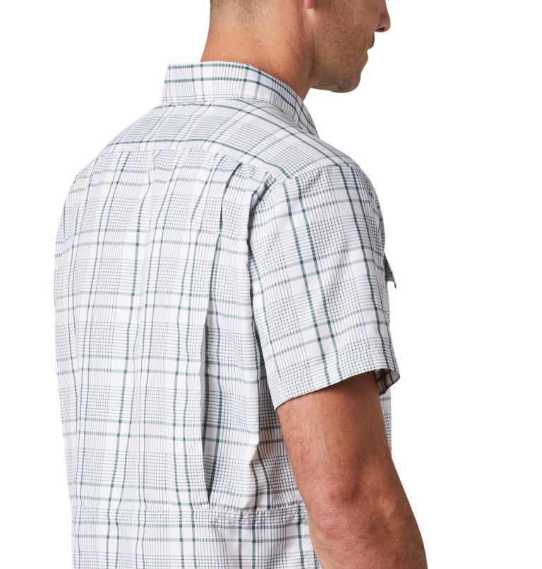 Silver Ridge™ 2.0 Multi Plaid S/S Shirt | 375 | M Men's Silver Ridge™ 2.0 Multi Plaid Short Sleeve Shirt, Rain Forest Grid Plaid, a3