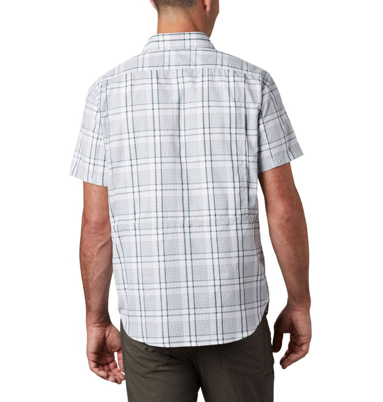 Silver Ridge™ 2.0 Multi Plaid S/S Shirt | 375 | M Men's Silver Ridge™ 2.0 Multi Plaid Short Sleeve Shirt, Rain Forest Grid Plaid, back