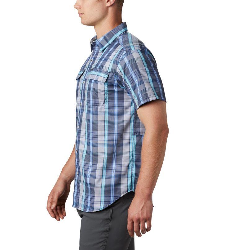 Silver Ridge™ 2.0 Multi Plaid S/S Shirt | 427 | L Men's Silver Ridge™ 2.0 Multi Plaid Short Sleeve Shirt, Sky Blue Multi Plaid, a1