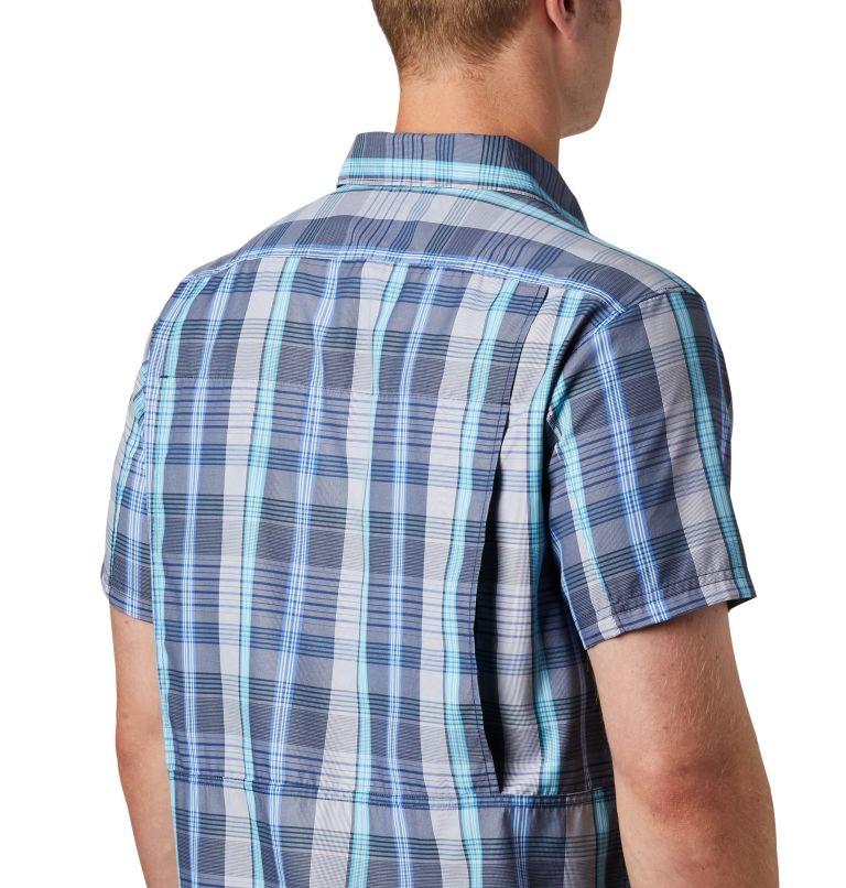 Silver Ridge™ 2.0 Multi Plaid S/S Shirt | 427 | L Men's Silver Ridge™ 2.0 Multi Plaid Short Sleeve Shirt, Sky Blue Multi Plaid, a2