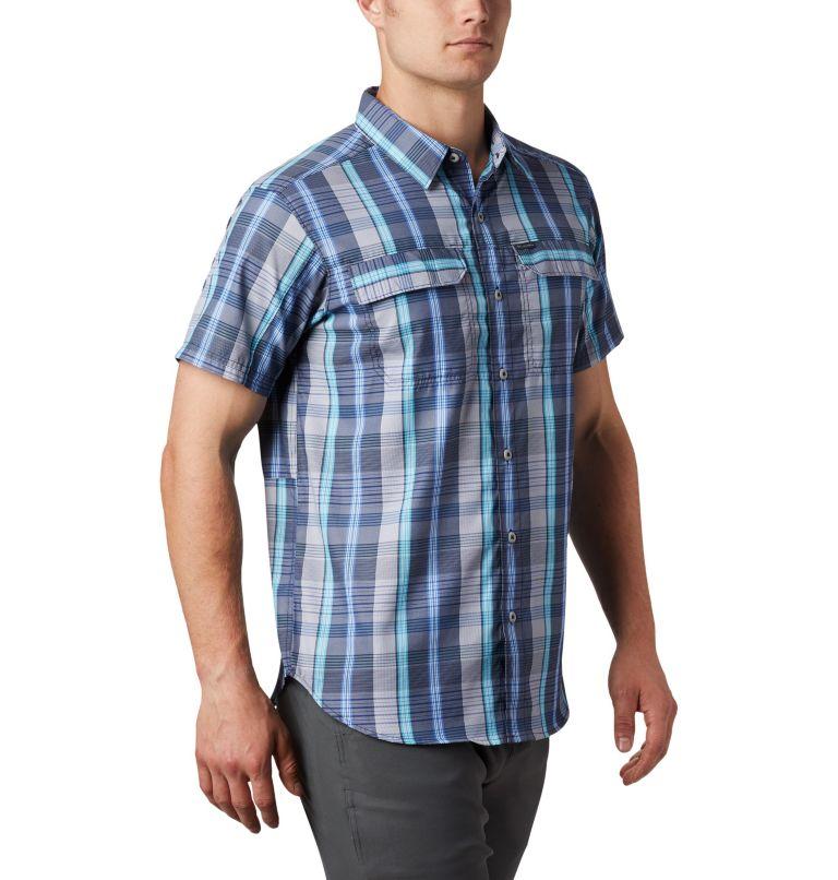 Silver Ridge™ 2.0 Multi Plaid S/S Shirt | 427 | L Men's Silver Ridge™ 2.0 Multi Plaid Short Sleeve Shirt, Sky Blue Multi Plaid, a3