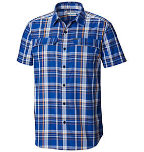 Men's Silver Ridge™ 2.0 Multi Plaid Short Sleeve Shirt