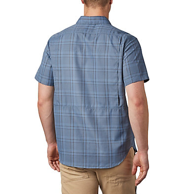 Men's Silver Ridge™ 2.0 Multi Plaid Short Sleeve Shirt Silver Ridge™ 2.0 Multi Plaid S/S Shirt | 369 | M, Mountain Grid Plaid, back
