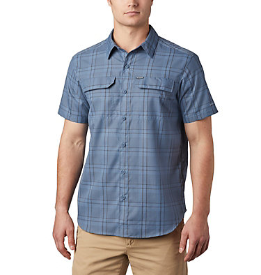 Men's Silver Ridge™ 2.0 Multi Plaid Short Sleeve Shirt Silver Ridge™ 2.0 Multi Plaid S/S Shirt | 369 | M, Mountain Grid Plaid, front