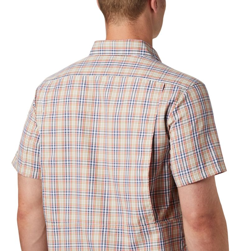 Silver Ridge™ 2.0 Multi Plaid S/S Shirt | 639 | XL Men's Silver Ridge™ 2.0 Multi Plaid Short Sleeve Shirt, Dark Coral Gingham, a2